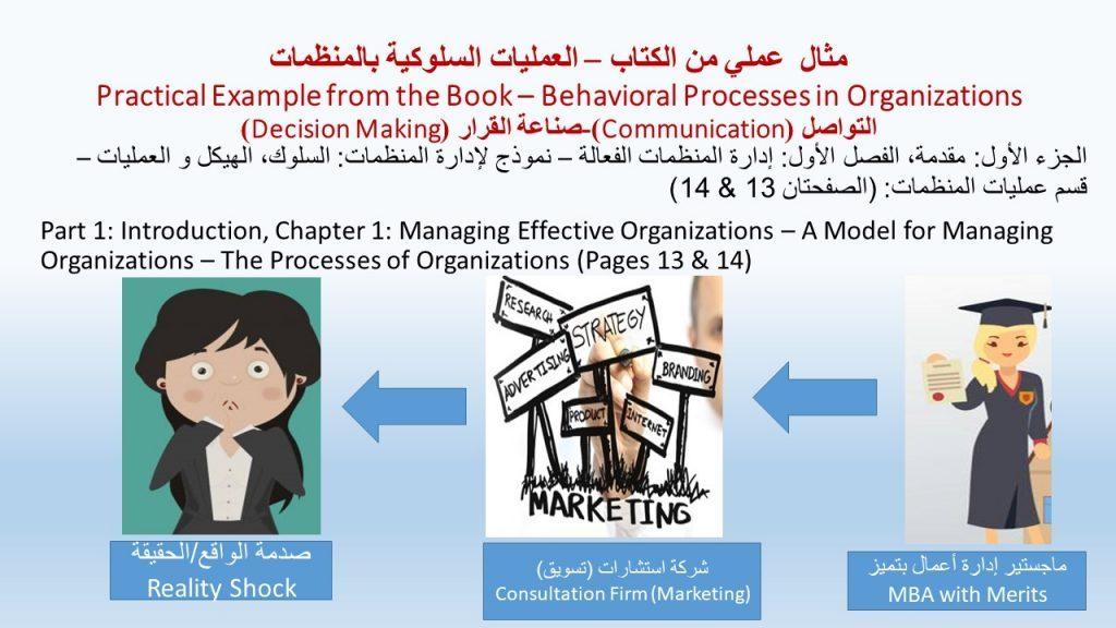 المنظمات الإنسانية باليمن - حالة عملية من كتاب السلوك التنظيمي، و التي سنقارنها فيما بعد بحال المنظمات عندنا