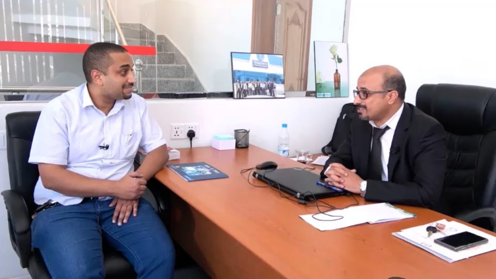 Yemeni Pharmaceutical Management - Meeting venue; Dr. Omar Mulhi's Office in Sana'a, Shaphaco Company