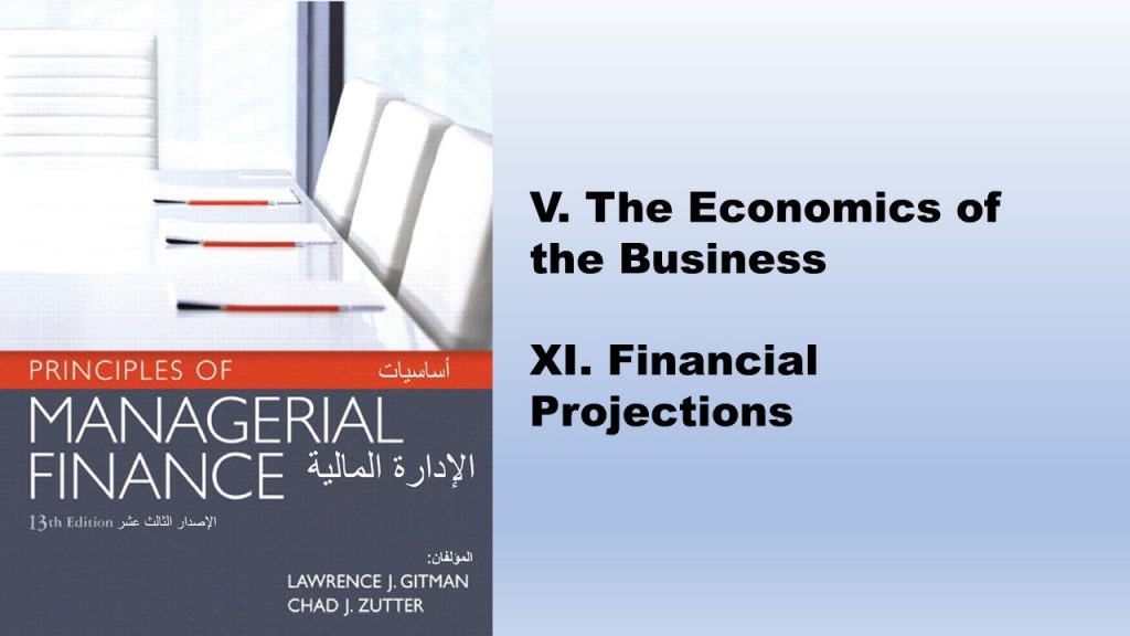 Principles of Managerial Finance Book  (2012) is one of the channel's books which helps entrepreneurs in filling out financial and economic sections of the business plan.