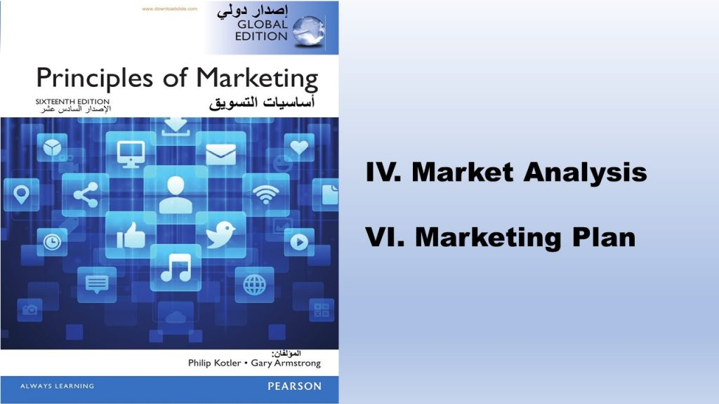 Principles of Marketing Book (2016) is one of the channel's books which helps entrepreneurs in filling out marketing sections of the business plan.