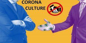 No Handshaking - It's Corona Culture