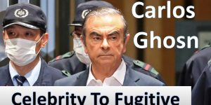 Carlos Ghosn is a famous example of organizational change management success, despite his current problematic statsu.