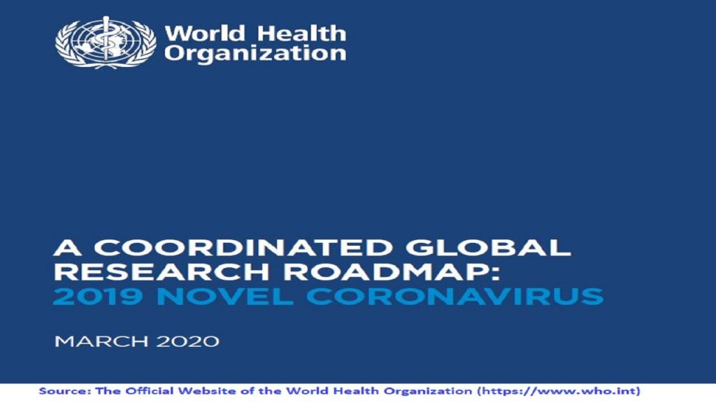 Coordinated Global Research Roadmap controls & guides the efforts of the Global COVID-19 Project