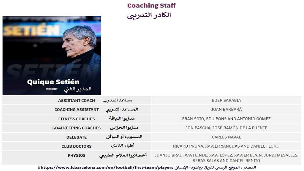 مجموعة تدريب الفريق الأول، و التي على رأسها سيتين، بالتأكيد لها دور في أزمة برشلونة و ميسي