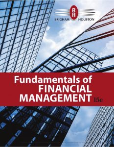 Fundamentals of Financial Management Book (2019), 15th Edition