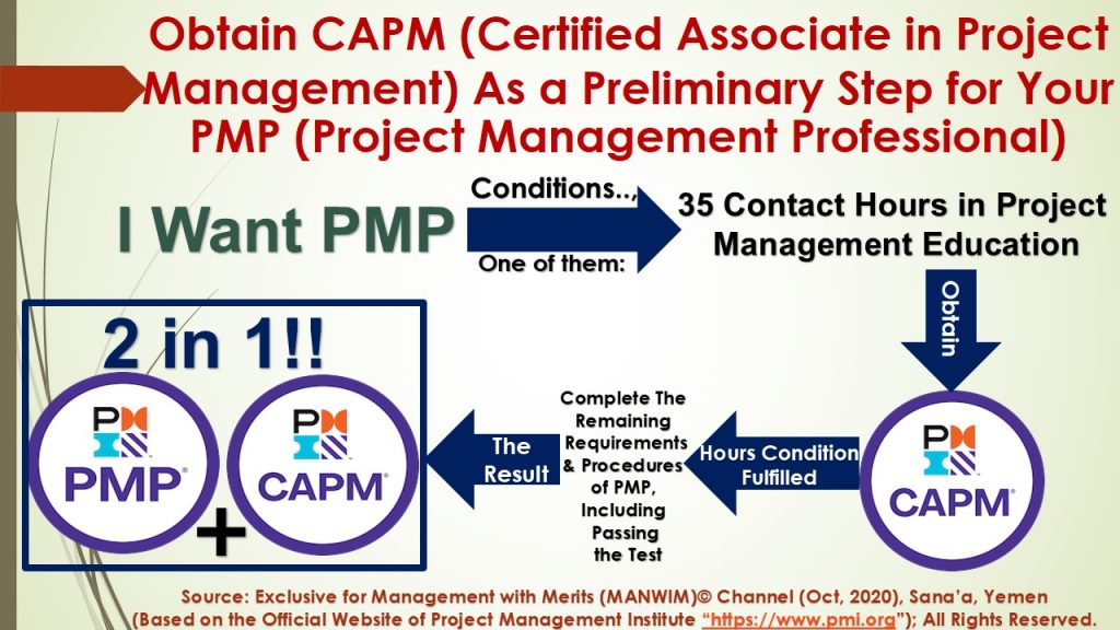 In my opinion, obtaining CAPM is an important and easy step to obtain and maintain PMP because it exempts you from the condition of 35 contact hours in project management education.