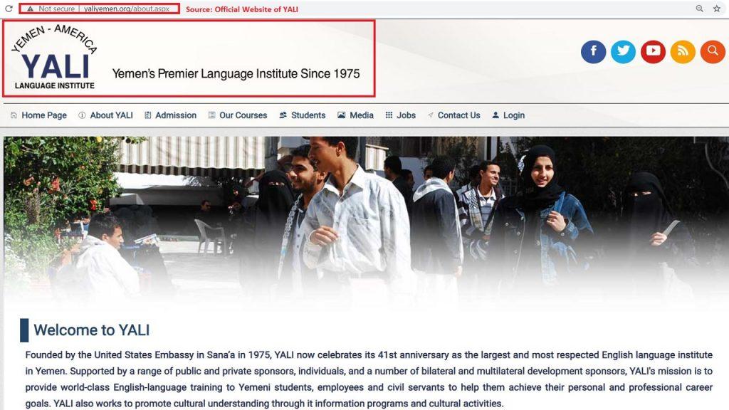 Yemen-America Language Institute (YALI) was the best institute in Yemen when Exceed was established in Nov 2007.