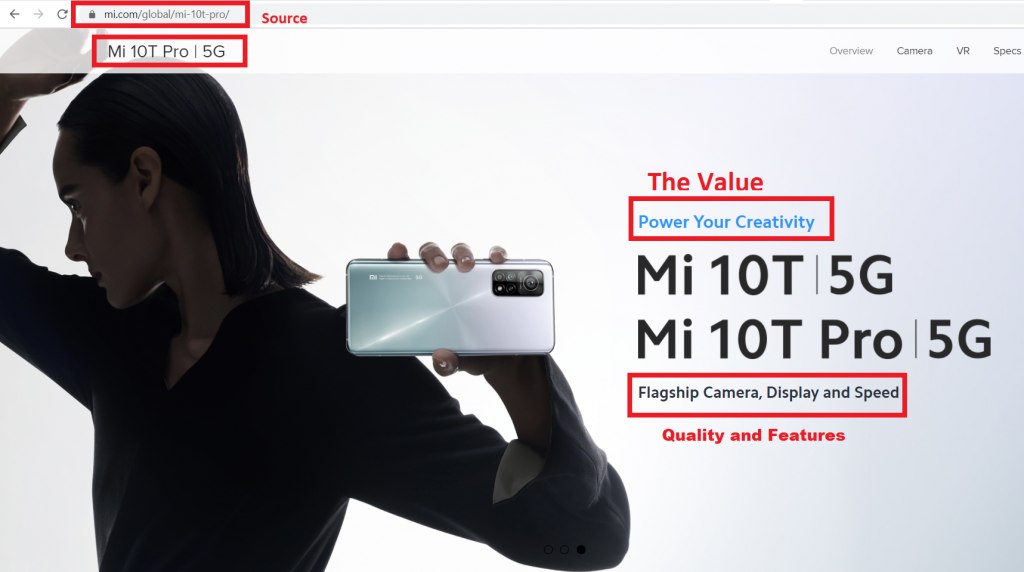 Xiaomi had to practice careful pricing in marketing by responding to Apple's high quality and price (competitor) and manufacturing a high quality and expensive phone (Mi 10T Pro - $698).