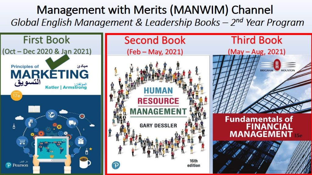 Completing the 1st Book (Marketing 2018) means that 2 books remain in the 2nd year Program (HR 2020 and Financial Management 2019).