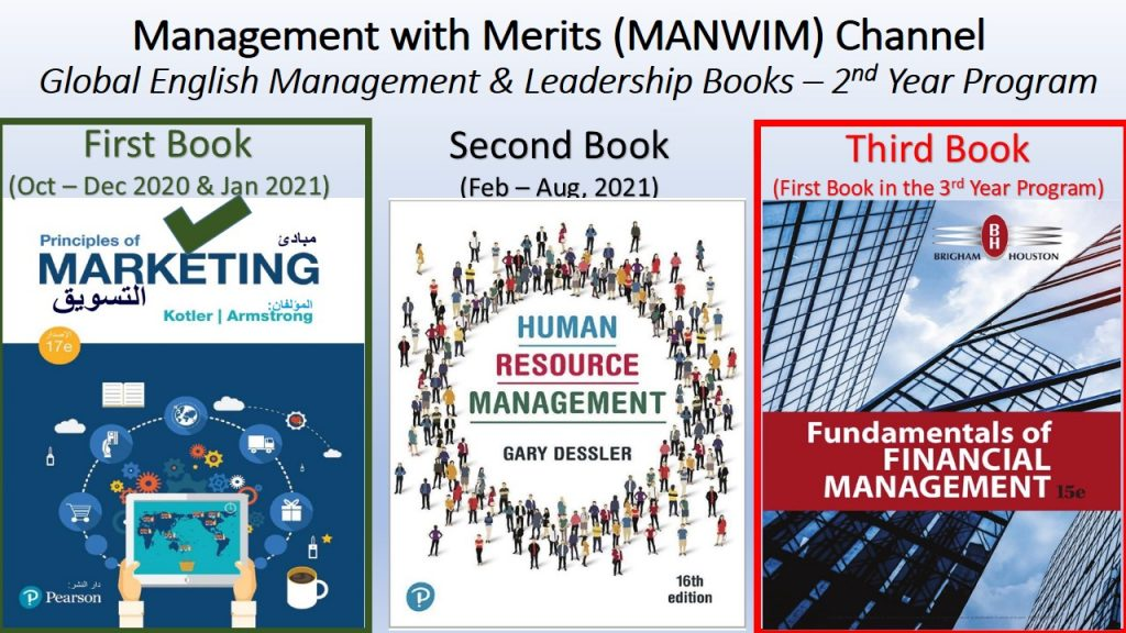 HR Management 2020 Book will be done in the 2nd Year Program while the 3rd Book (Financial Management 2019) will be delayed to be the 1st book in the 3rd Year Program.