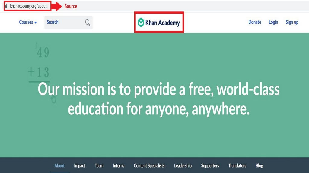 The donation of $5M to Khan Academy has been done basically because of the academy's mission of educating the whole world.
