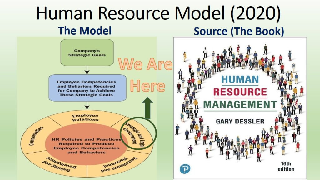 HR Strategies and Law are the topics of Part 1 of Human Resource Management 2020 Book.