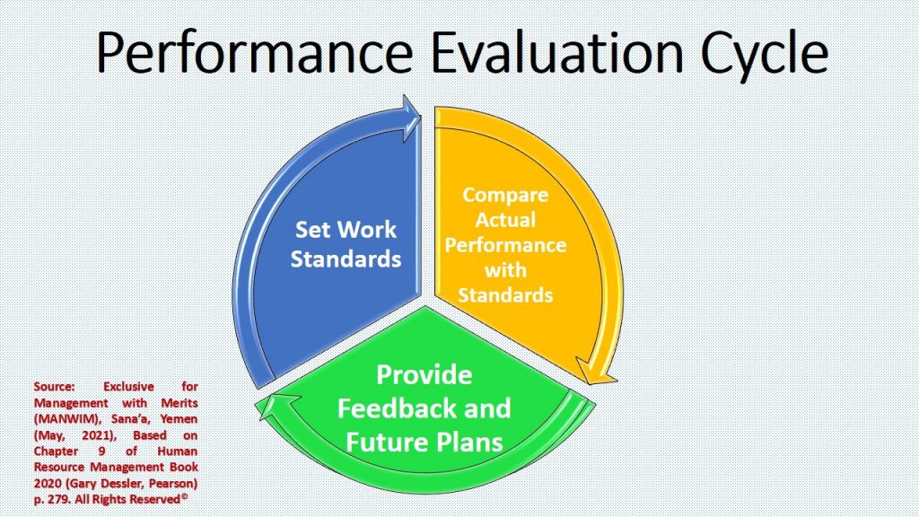 There are 3 cycles in performance and evaluation within organizational training and development .